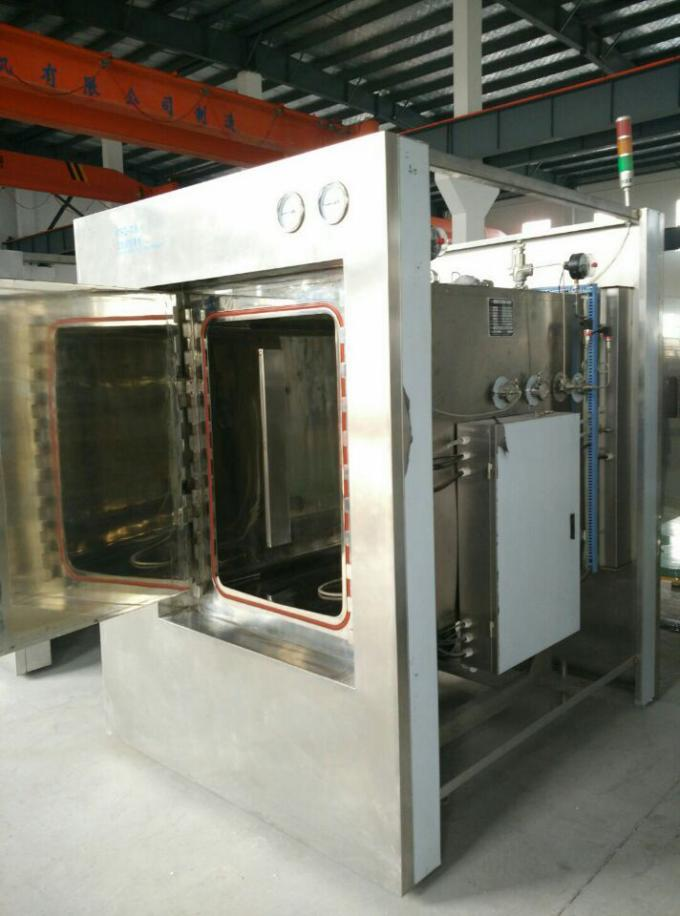 Safe Operation Hospital Steam Sterilizer With Built in Automatic Electric Steam Generator