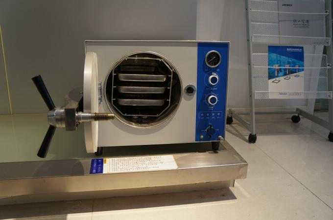 Electric Heated Benchtop Autoclaves With Pressure And Temperature Controller