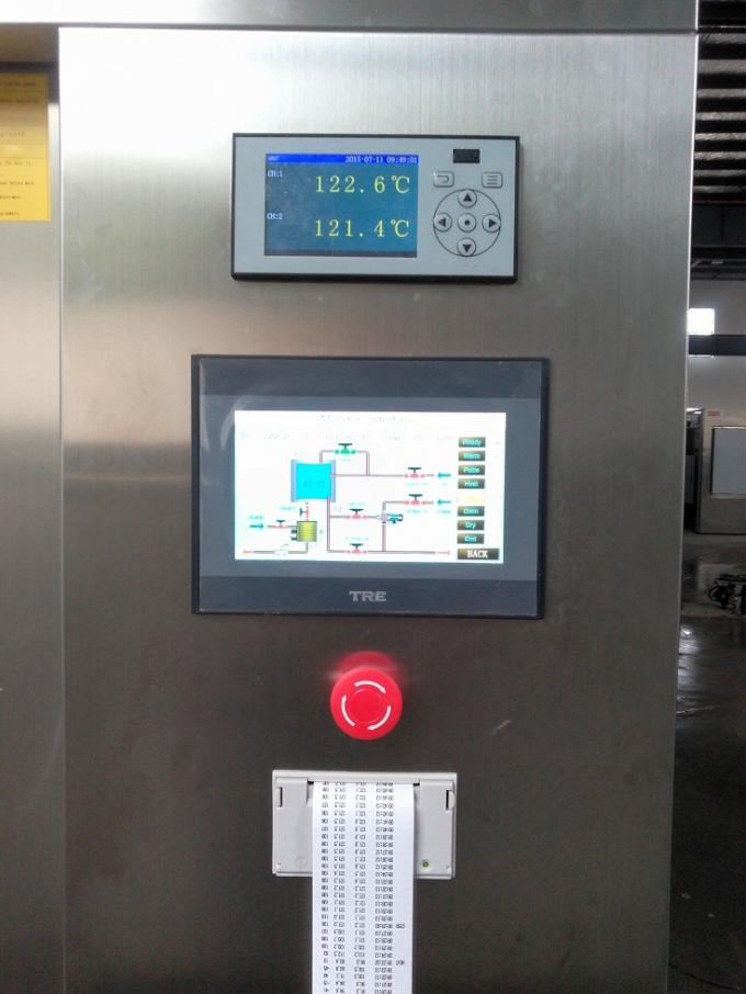 Bulk Double Door Autoclave With 5.7 Upto 8 Inches Wide Colorful LCD Display